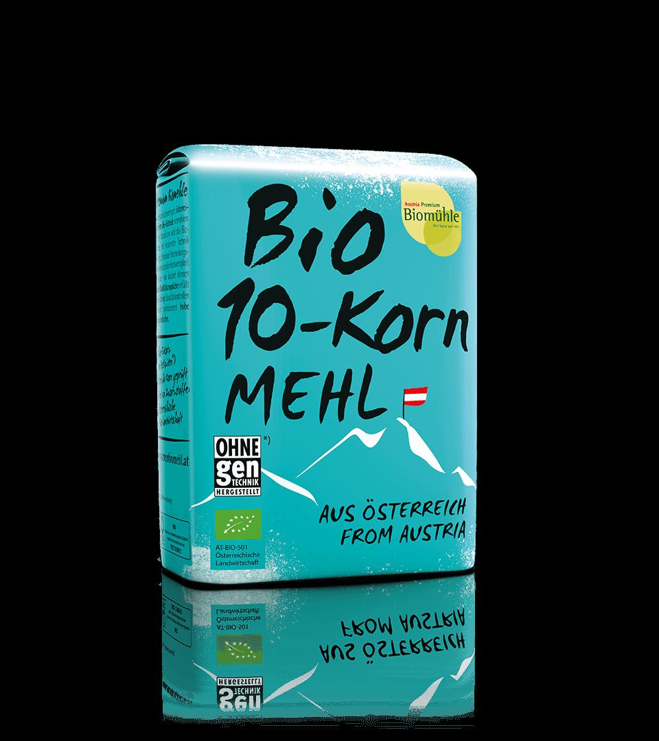 Bio 10-Korn Mehl